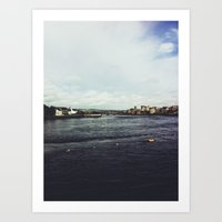 Limerick City, Ireland Art Print