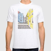 Beautiful Lisbon by Charlotte Vallance Mens Fitted Tee Ash Grey SMALL