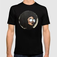 Venus Afro Mens Fitted Tee Black SMALL