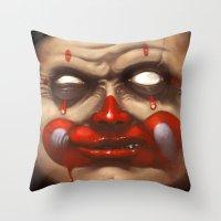 Hide your Children Throw Pillow