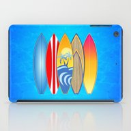 iPad Case featuring Surfboards by MacDonald Creative S…