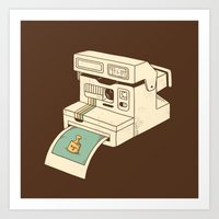 Insta Gram Art Print
