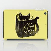 Witchcraft Cat iPad Case