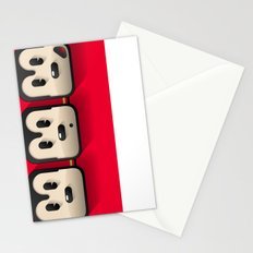faces of mickey mouse Stationery Cards