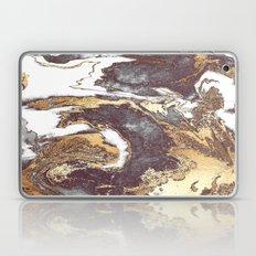 Black White Gold Laptop & iPad Skin