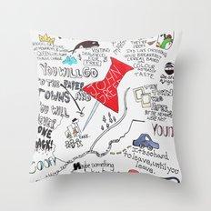 Paper towns, John Green Throw Pillow