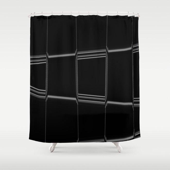Minimalist Black White Shower Curtain By Syella Society6