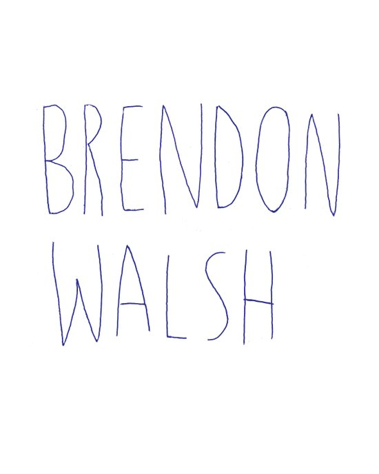 brendon walsh Art Print