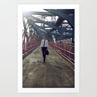 Summer in NYC pt.3 Art Print