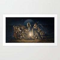 The Humanity Paradigm Art Print
