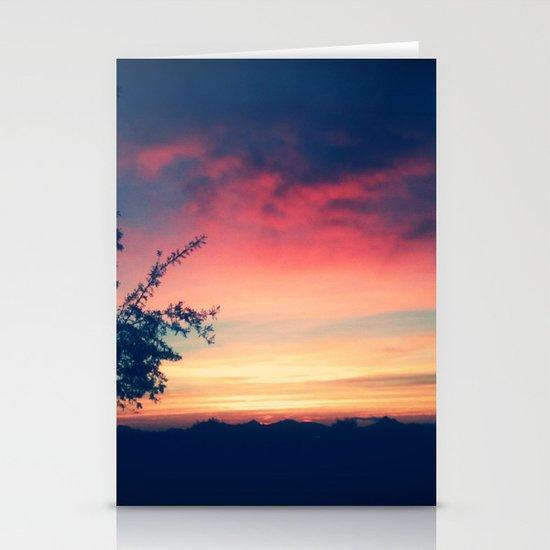 An Arizona Sunset Stationery Card