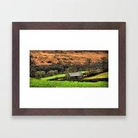 Little Barn Exmoor Framed Art Print