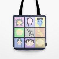 The Addams Family  Tote Bag