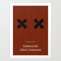 Oddworld Inhabitants' Od… Art Print
