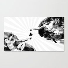 God give Secrets to Man Canvas Print
