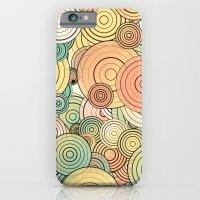 Layered circles iPhone 6 Slim Case