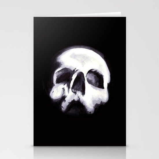 Bones II Stationery Card
