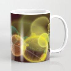 Rainbow Bubbles Design Mug