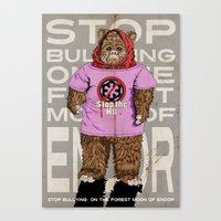 Stop The H8 Canvas Print