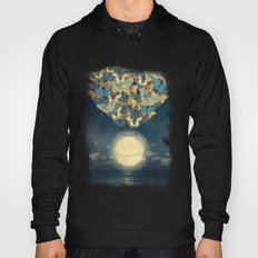 The Rising Moon  Hoody