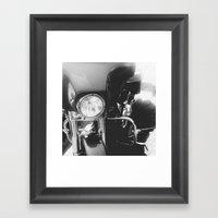 Harley IV Framed Art Print