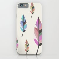 feathers iPhone & iPod Cases featuring Feathers by 83oranges.com