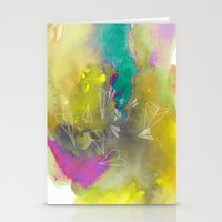 Planes in Watercolor Stationery Cards