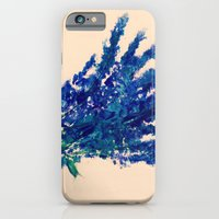 Fresh Cut Lavender Watercolors On Paper Edit iPhone 6 Slim Case