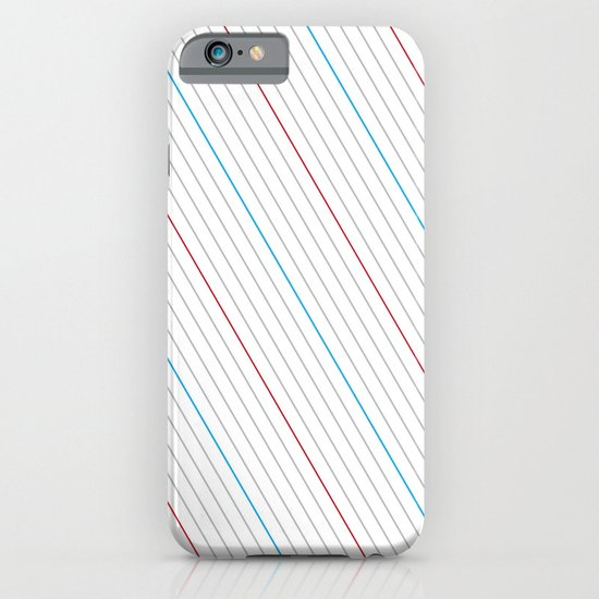 Simple Lines iPhone & iPod Case