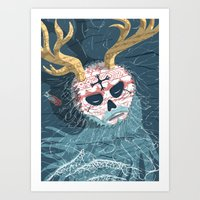 Gods And Monsters #9 - T… Art Print