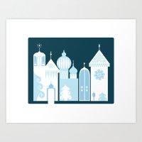 The Ice Castle Art Print