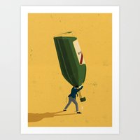 Entrepreneur Art Print