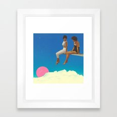 the.view//from.here Framed Art Print