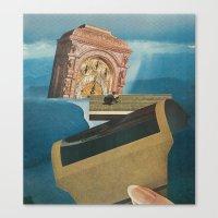 Strange Cities: A Magic City Canvas Print