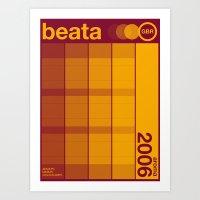 Beata Single Hop Art Print