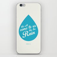 He Will Come To Us Like … iPhone & iPod Skin