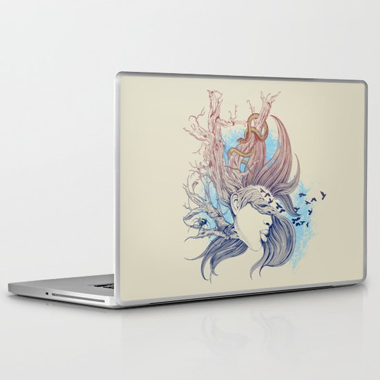 Tree Girl Laptop & iPad Skin