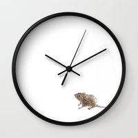 Little Mouse Wall Clock