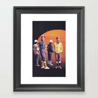 Benefit For Japan Framed Art Print
