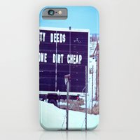 Dirty Deeds iPhone 6 Slim Case
