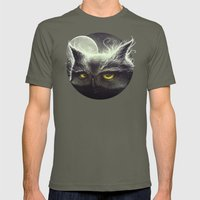 Owl & The Moon Mens Fitted Tee Lieutenant SMALL
