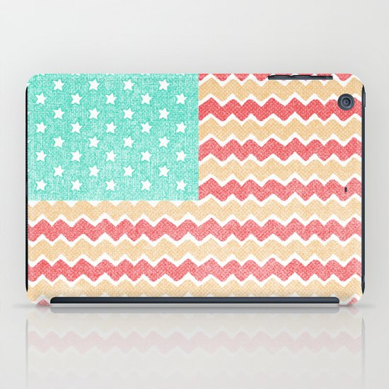 Zig Zag Flag. iPad Case