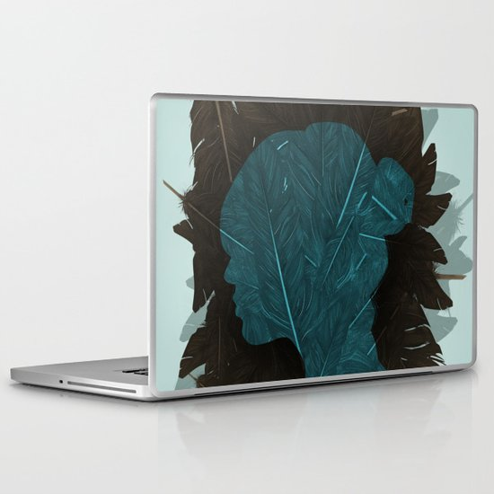Ornithology. Laptop & iPad Skin