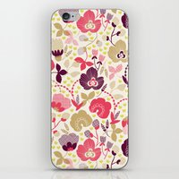 Summer Floral iPhone & iPod Skin