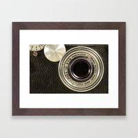 Vintage Argus camera Framed Art Print