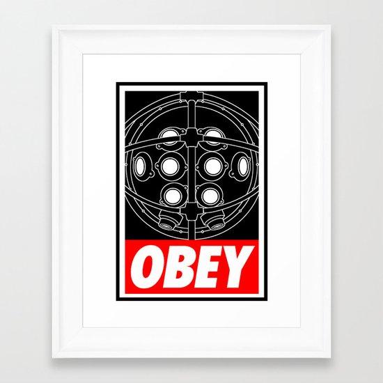 OBEY - Big Daddy Framed Art Print