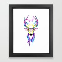 Patronus Harry Potter Framed Art Print