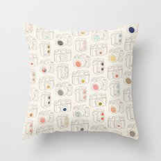 Viewfinder Throw Pillow