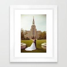Oliver and Soye - Temple Framed Art Print