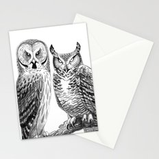 Bubo and Strix Stationery Cards